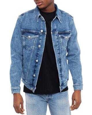 Calvin Klein Jeans Foundation Slim Denim Jacket AA042 Mid Blue