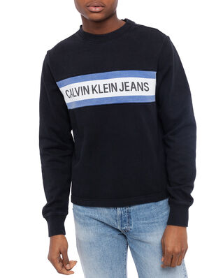 Calvin Klein Jeans Instit Front Stripe Ck Black/White