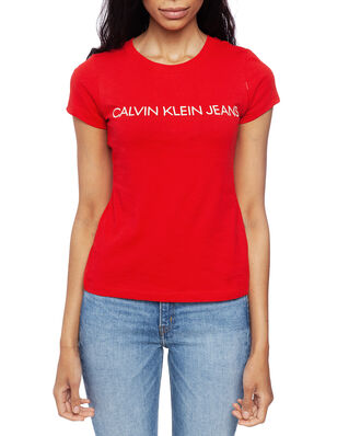 Calvin Klein Jeans Institutional Logo Barbados Cherry/Soothing Sea