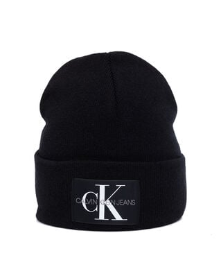 Calvin Klein Jeans J Basic Men Knitted Beanie Black Beauty