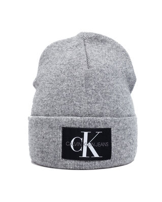 Calvin Klein Jeans J Basic Men Knitted Beanie Mid Grey Heather