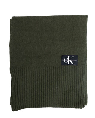 Calvin Klein Jeans J Basic Men Knitted Scarf Grape Leaf