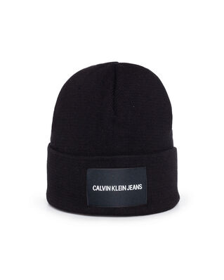 Calvin Klein Jeans J Institutional Beanie Black Beauty