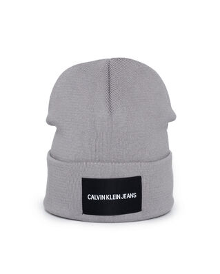 Calvin Klein Jeans J Institutional Beanie Mid Grey Heather