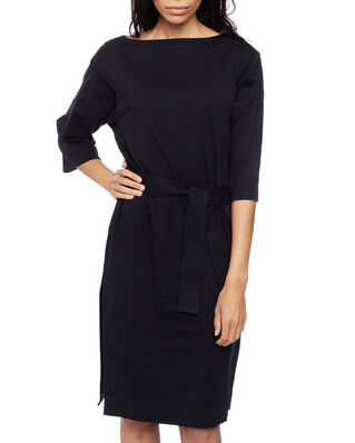 Calvin Klein  Jersey Dress Ss Calvin Black