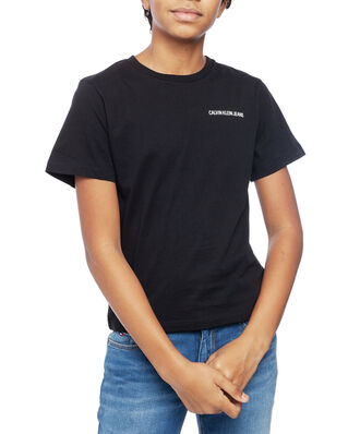 Calvin Klein  Junior Chest Logo Regular Top Black