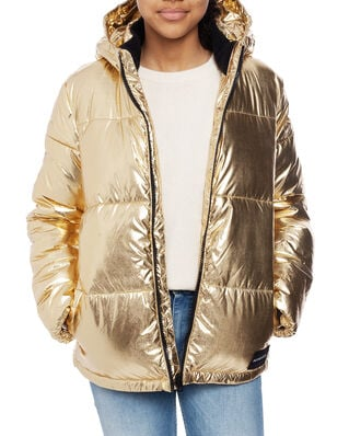 Calvin Klein  Junior Gold Puffer Jacket Gold