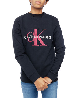 Calvin Klein  Junior Monogram Sweatshirt Black