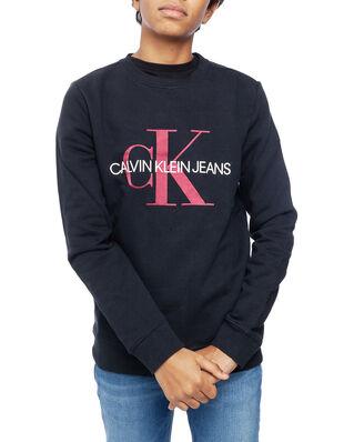Calvin Klein Junior Monogram Sweatshirt Black
