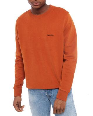 Calvin Klein  Logo Emroidery Sweatshirt Ginger