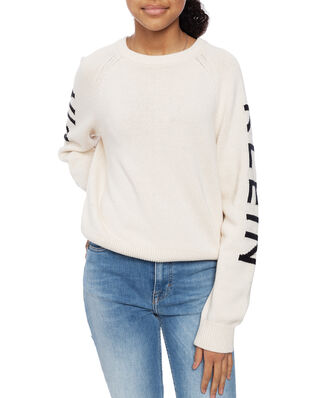 Calvin Klein  Junior Logo Raglan Sweater Whitecap Gray