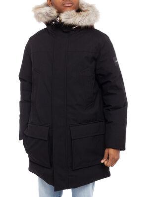 Calvin Klein Long Length Premium Down Jacket Calvin Black
