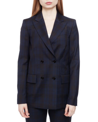 Calvin Klein  Midnight Cowboy Long Blazer Midnight Cowboy Check