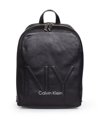 Calvin Klein  Ny Shaped Backpack Black