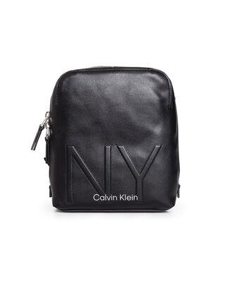 Calvin Klein  NY Shaped Cvrtbl Mini Reporter Black