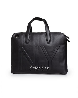 Calvin Klein  Ny Shaped Laptop Bag Black