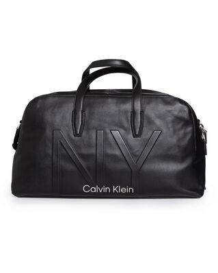 Calvin Klein  NY Shaped Large Duffle Black