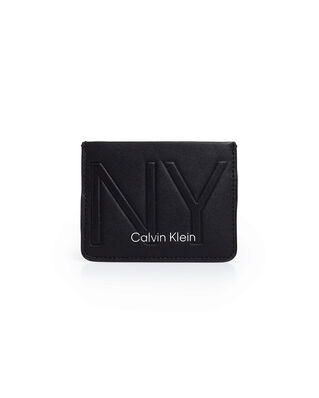 Calvin Klein  NY Shaped New Card Holder Black