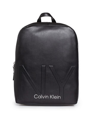 Calvin Klein  Ny Shaped Round Backpack Black