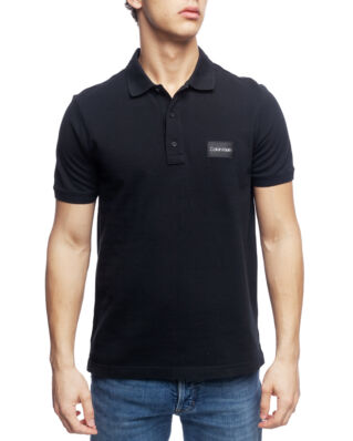 Calvin Klein  Pique Logo Badge Polo Perfect Black