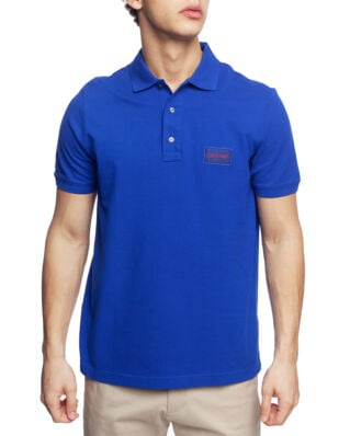 Calvin Klein  Pique Logo Badge Polo Surf The Web