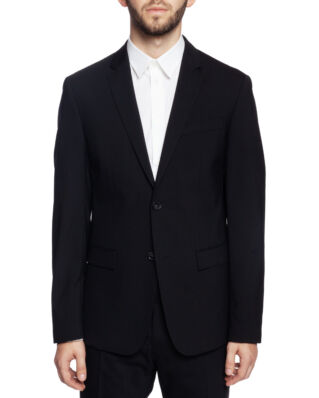 Calvin Klein  Stretch Wool Slim Suit Blazer Perfect Black