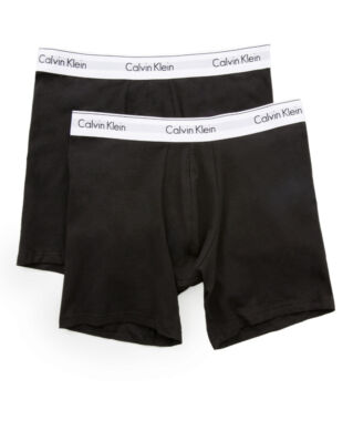 Calvin Klein Underwear Modern cotton 2-pack boxer brief black/black