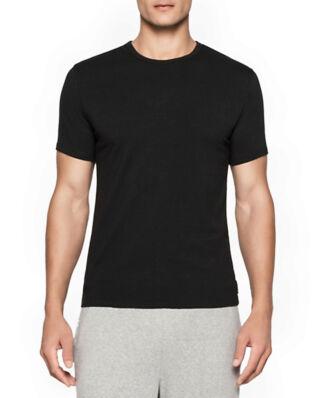 Calvin Klein Underwear Modern Cotton 2-Pack Crew Neck T-shirt Black