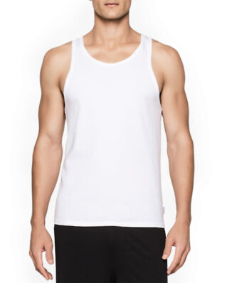 Calvin Klein Underwear Modern Cotton 2-Pack Tank White