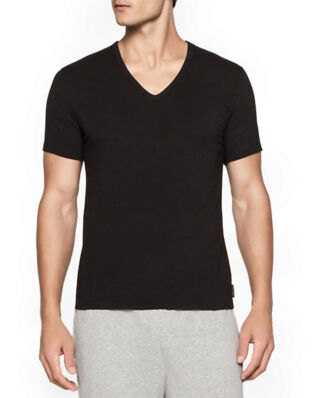 Calvin Klein Underwear Modern Cotton 2-Pack V-Neck T-shirt Black