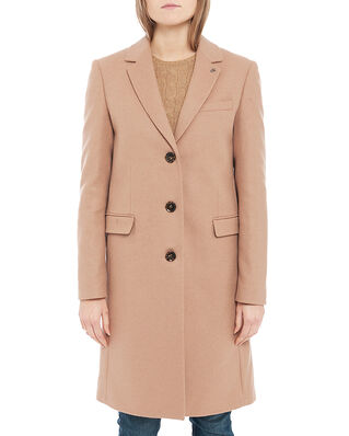 Calvin Klein  Essential Wool Crombie Camel