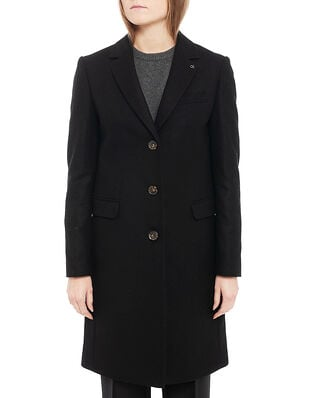 Calvin Klein  Essential Wool Crombie Ck Black