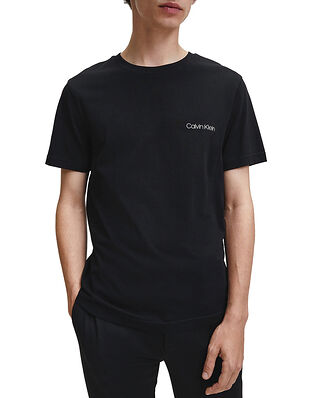 Calvin Klein  Cotton Chest Logo T-Shirt Calvin Black