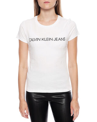 Calvin Klein Jeans Core Instit Logo Bright White