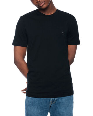 Calvin Klein  Cotton Logo Embroided Calvin Black