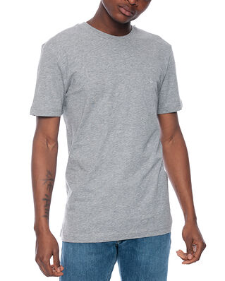 Calvin Klein  Cotton Logo Embroided Mid Grey Heather