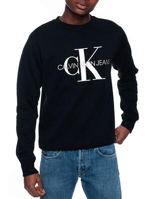 Calvin Klein Jeans Iconic Monogram Crew CK Black