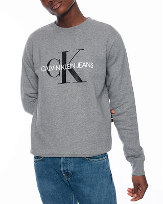 Calvin Klein Jeans Iconic Monogram Crew Mid Grey Heather