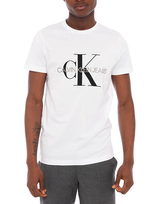 Calvin Klein Jeans Iconic Monogram SS Bright White