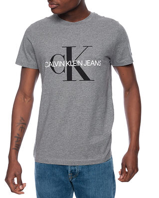 Calvin Klein Jeans Iconic Monogram SS Mid Grey Heather