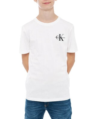 Calvin Klein Jeans Junior Chest Monogram Top Bright White
