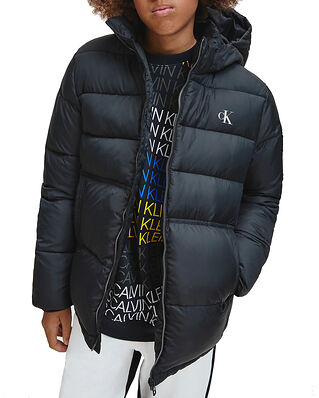 Calvin Klein Jeans Junior Essential Puffer Jacket CK Black