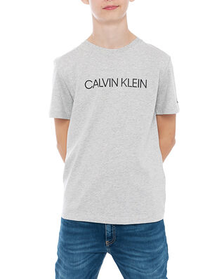 Calvin Klein Jeans Junior Institutional T-Shirt Light Grey Heather
