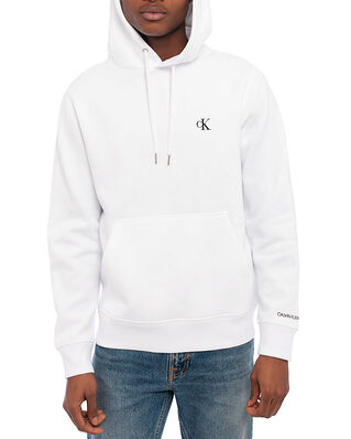 Calvin Klein Jeans Ck Essential Regular Hoodie Bright White