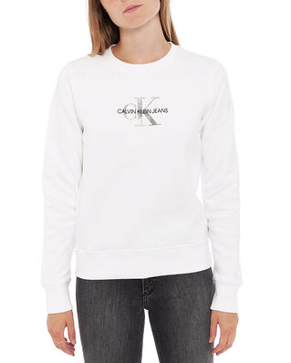 Calvin Klein Jeans Glitter Monogram Cn Bright White
