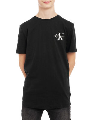 Calvin Klein Jeans Junior Chest Monogram Top Ck Black