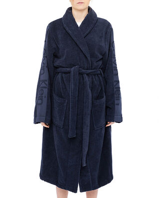 Calvin Klein Underwear Robe Blue Shadow