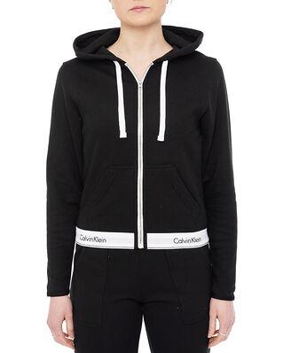 Calvin Klein Underwear Top Hoodie Full Zip Black