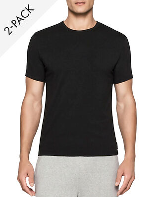 Calvin Klein Underwear Modern Cotton 2-Pack Crew Neck T-shirt Black