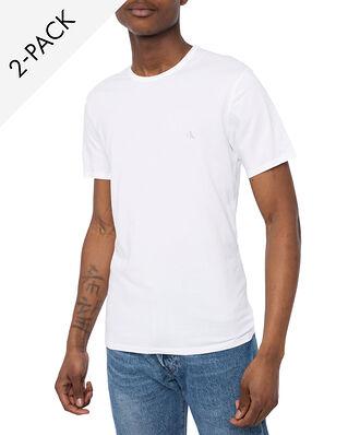 Calvin Klein Underwear S/S Crew Neck 2-pack White